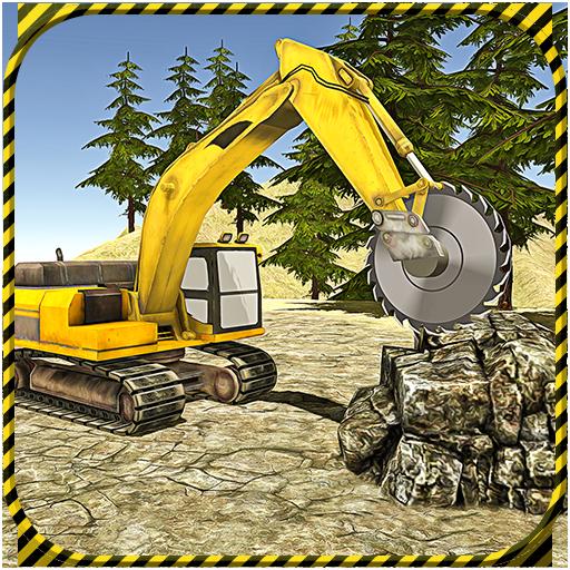 Heavy Excavator 2017 Stone Cut