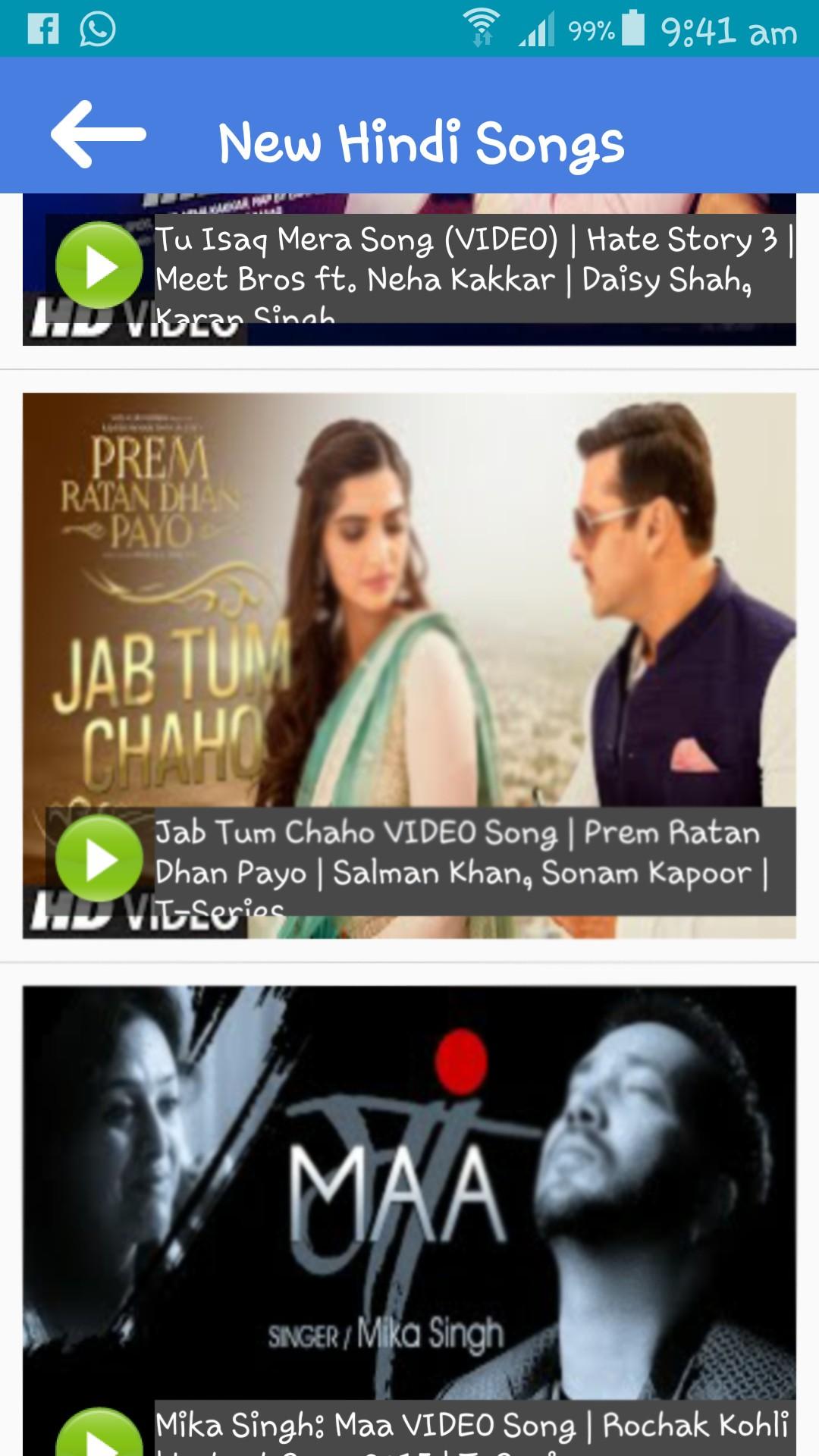 Latest Hindi Songs 2016