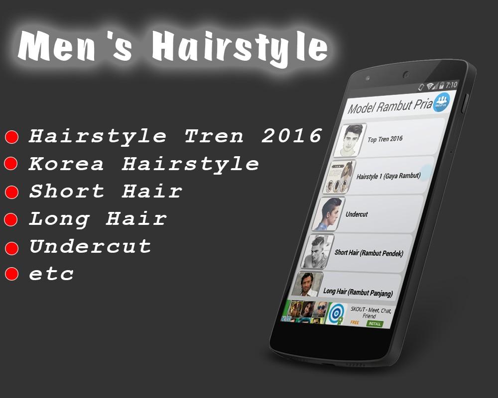 Model Rambut Pria ( Men Hairstyle )