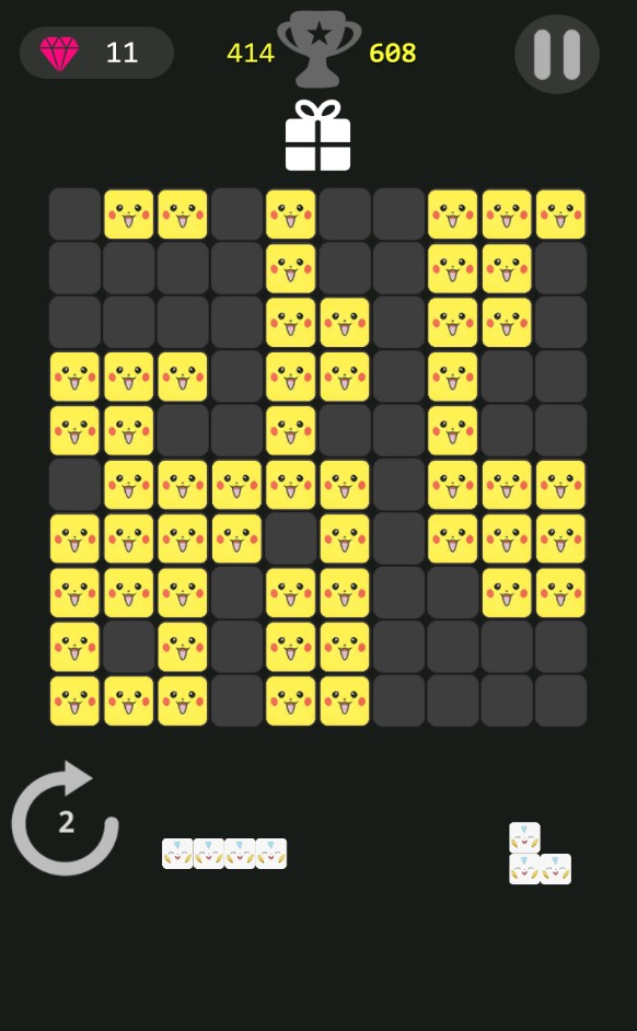 Pikachu Block Puzzle Game