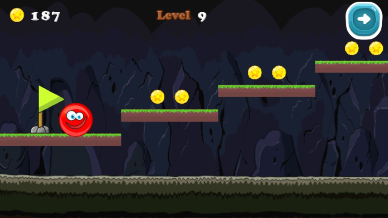Red Ball 5 - Bouncy Ball