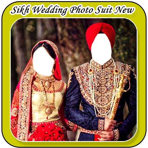 Sikh Wedding Photo Suit New