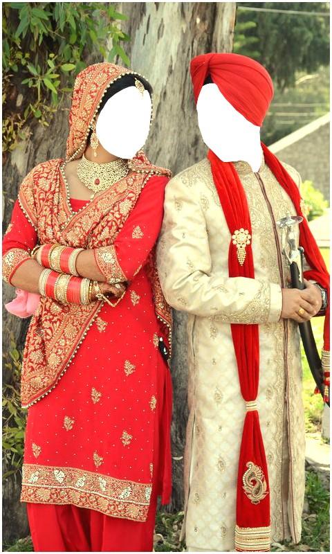 Sikh Wedding Photo Suit New