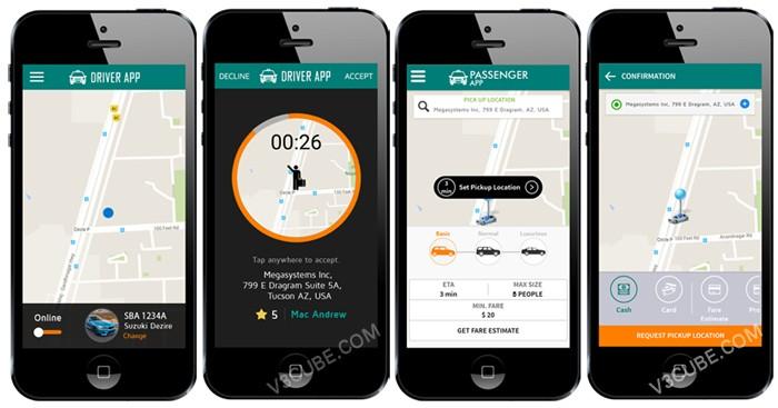 Uber App Clone Script