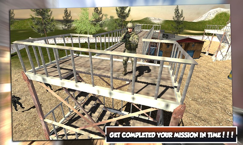 Army Defense Sniper Shooting
