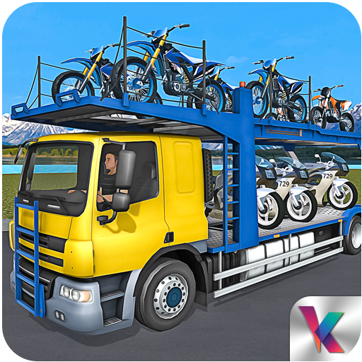 Bike Transport Truck Driver