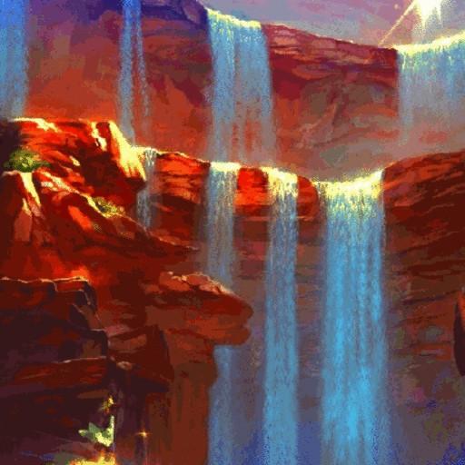 Fantasy Waterfall LWP