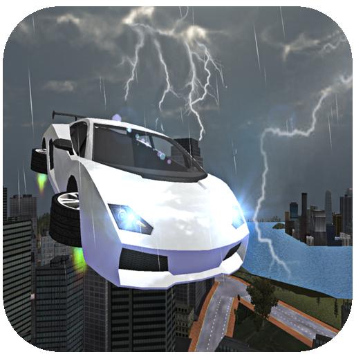 Hover Car Stunts