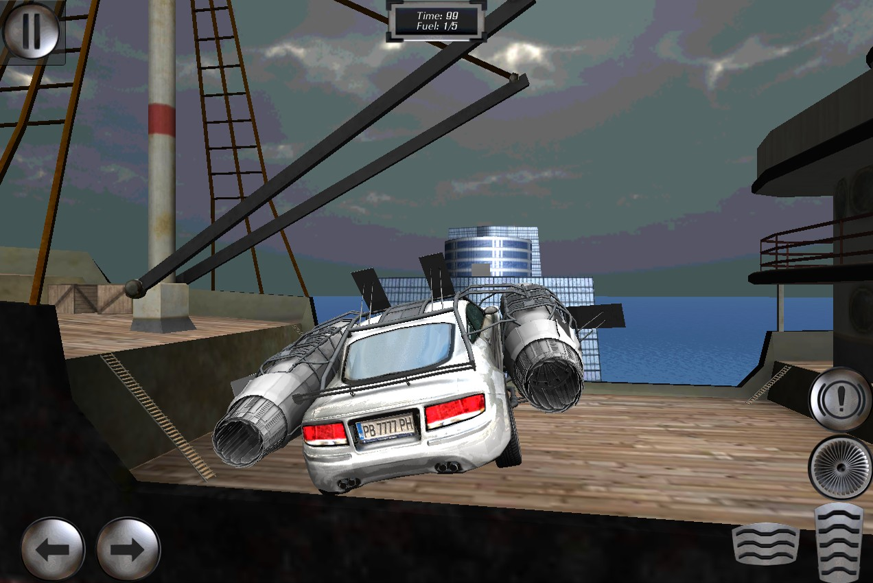 Jet Car - Extreme Jumping
