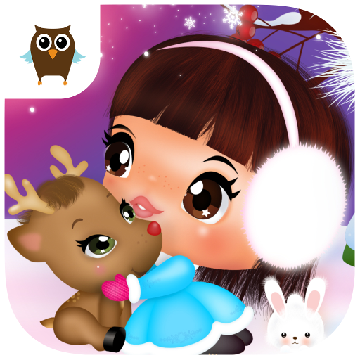 Sweet Little Emma Winterland 2 | Cute Reindeer Care and bake Gingerbread
