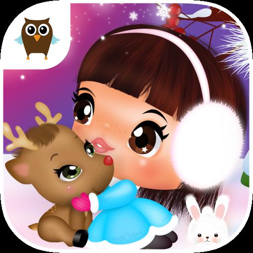 Sweet Little Emma Winterland 2 | Cute Reindeer Care and bake Gingerbread