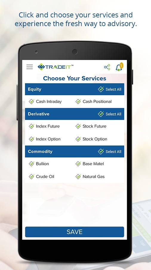 TRADEIT- Stock Market Advisory App