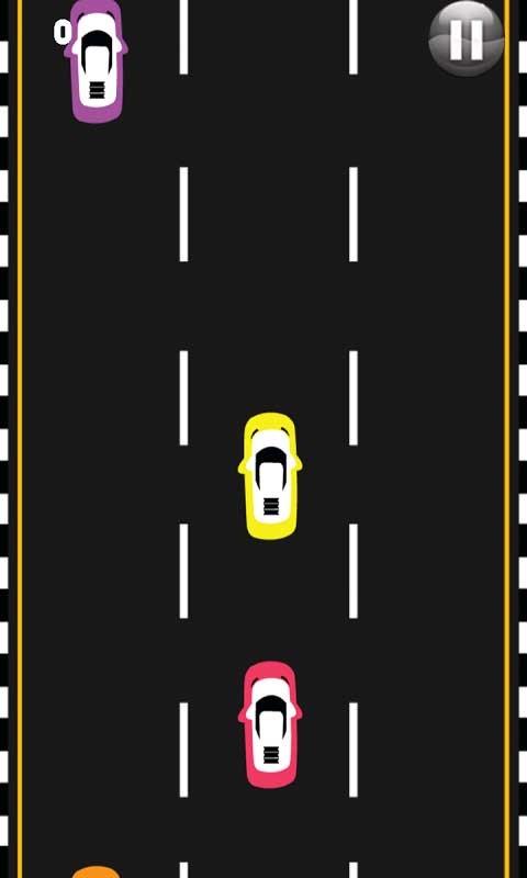 Two Car Traffic Rush