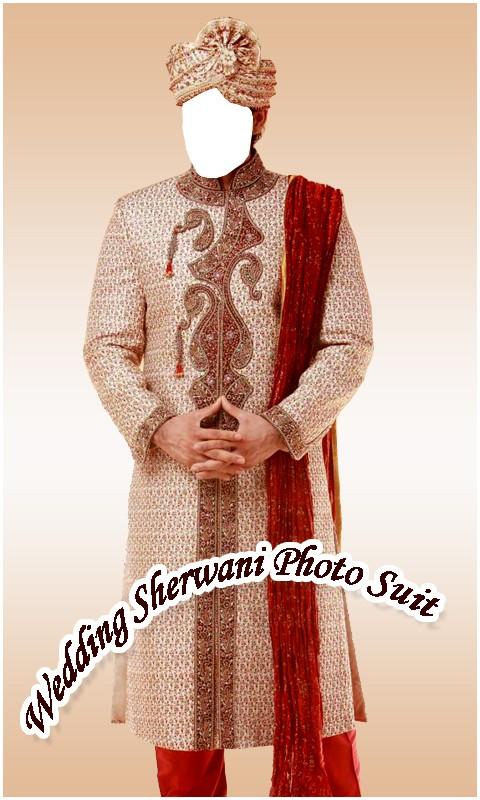 Wedding Sherwani Photo Suit