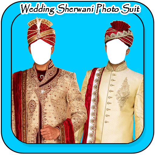 Wedding Sherwani Photo Suit