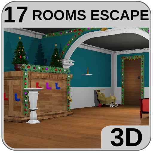 3D Escape Puzzle Christmas Santa