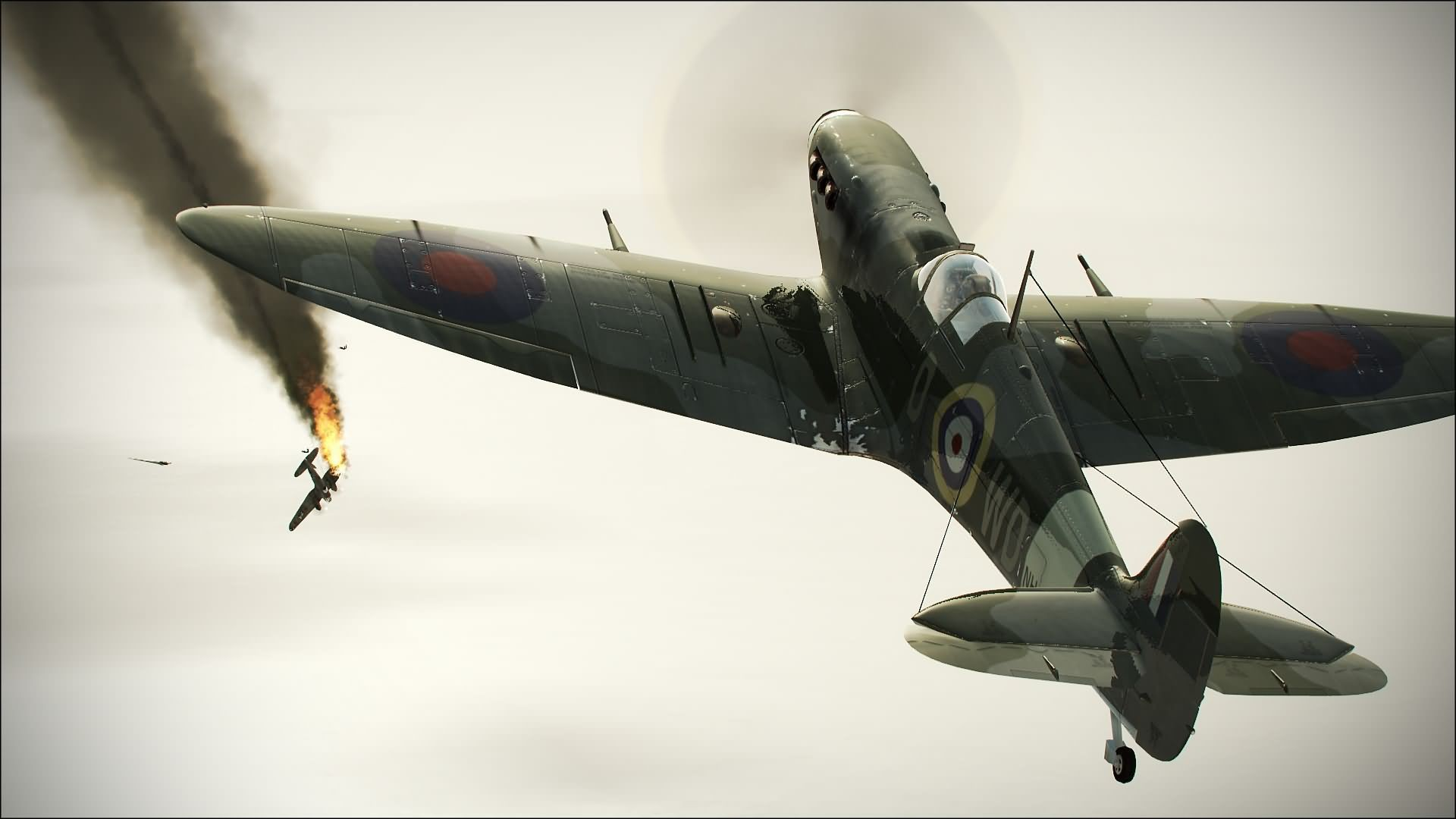 WW2 Aircraft Strike