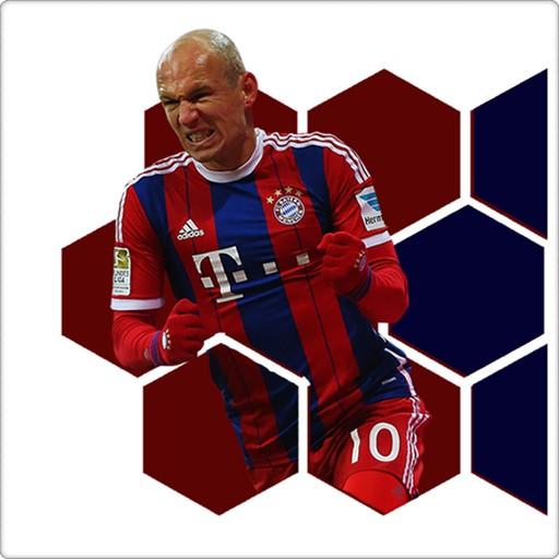 Arjen Robben Clock Widget