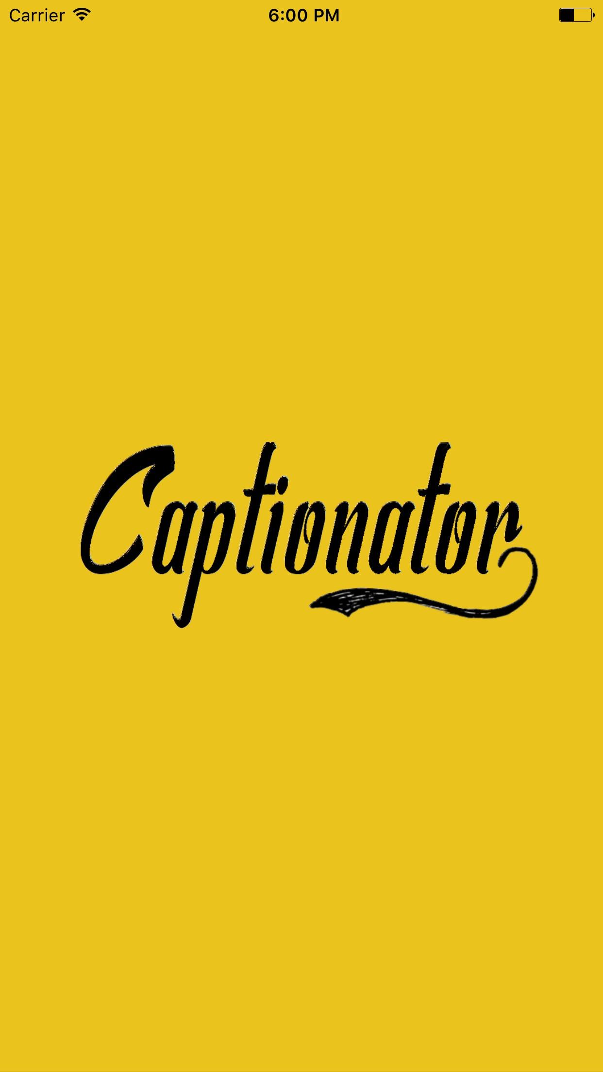 Captionator App