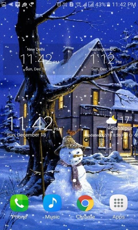 Christmas Snowmen LWP