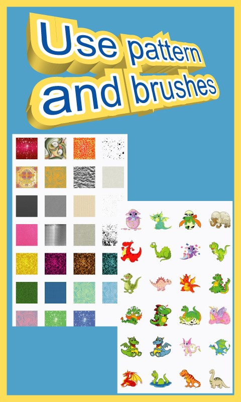 Coloring for Kids - Dinosaur