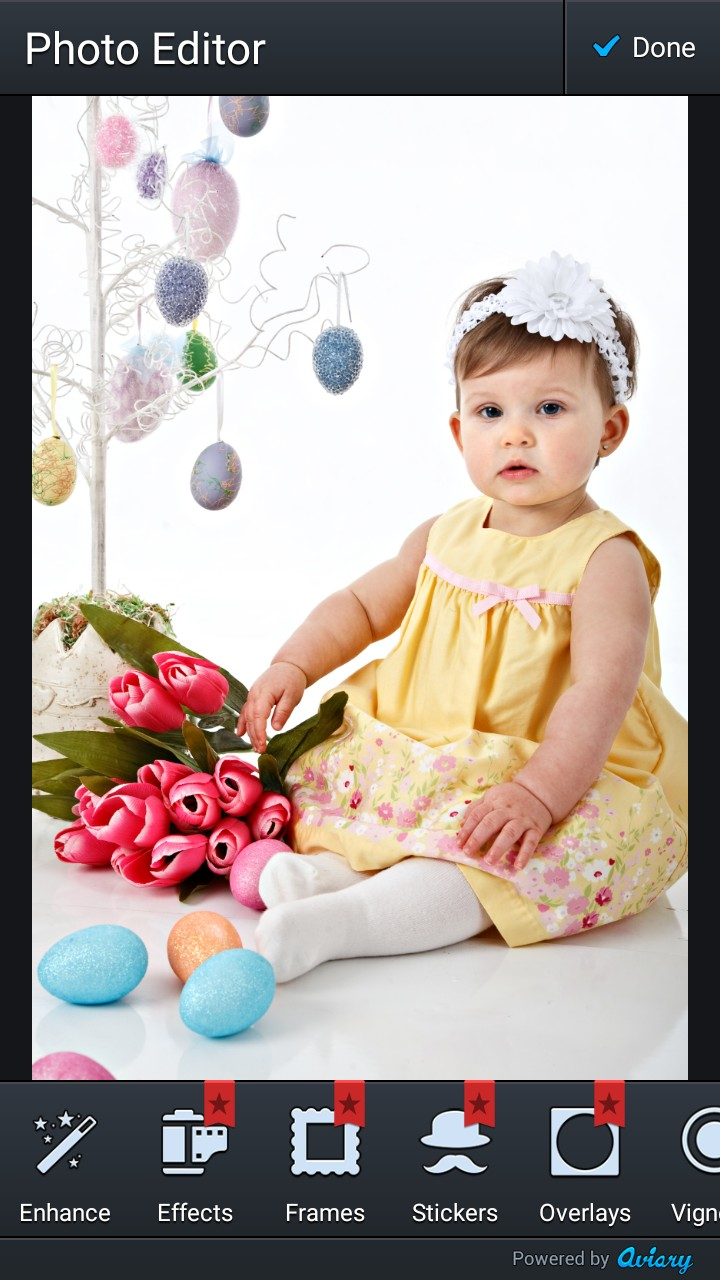 Easter Photo Crop Editor