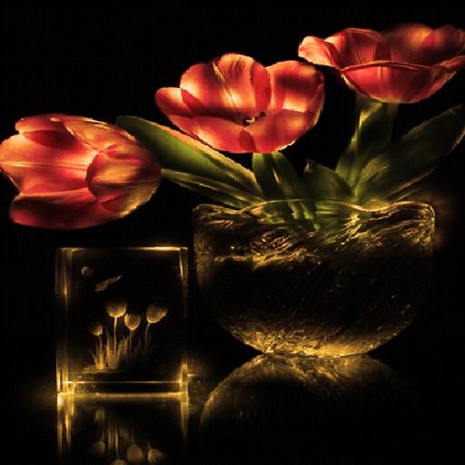 Flowers Pot Shine LWP