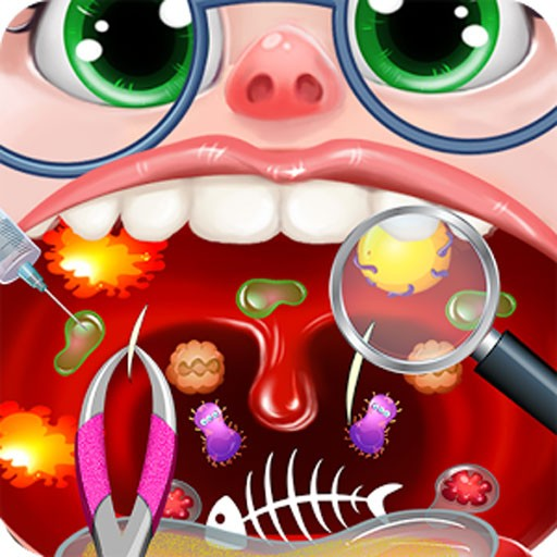 Kids Throat Surgery Simulator