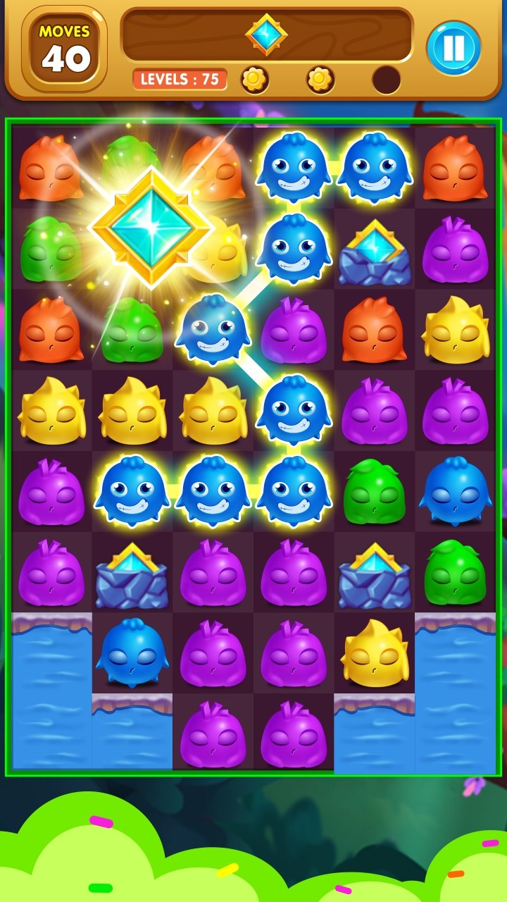 Monster Rescue: Match 3 Puzzle