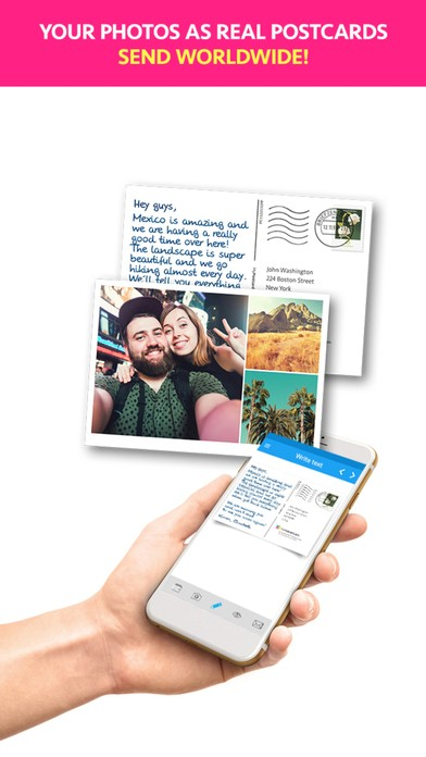 MyPostcard - Postcard and Greeting Card App