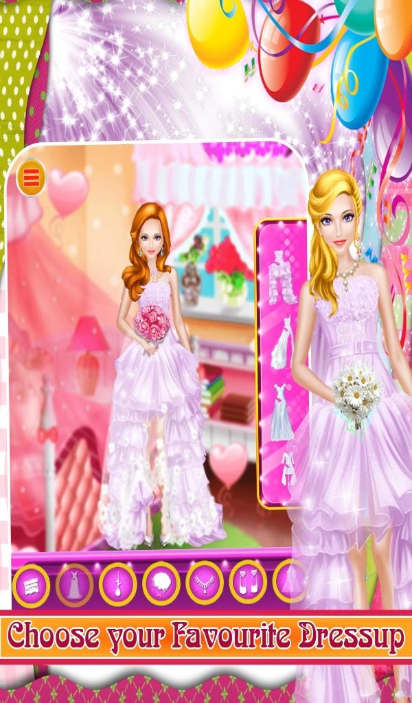 Princess wedding makeover