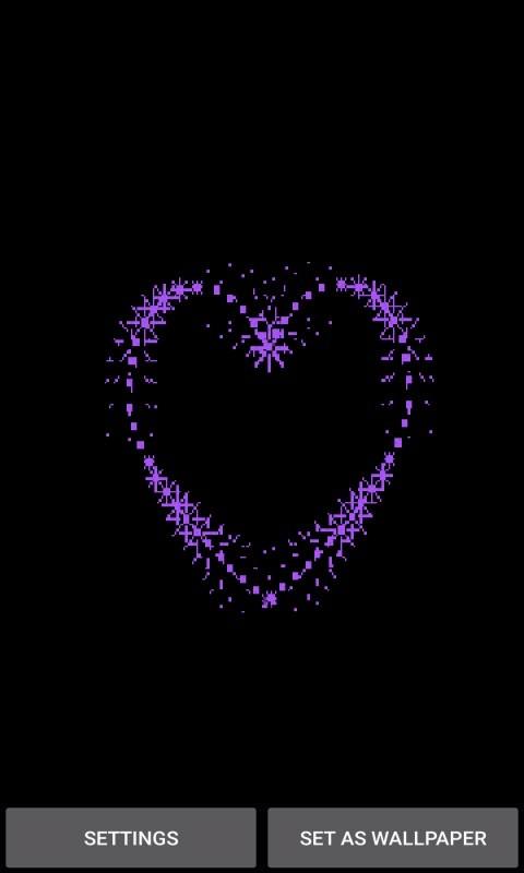 Purple Heart LWP
