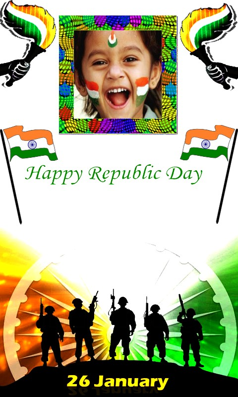 Republic Day Photo Frames Free