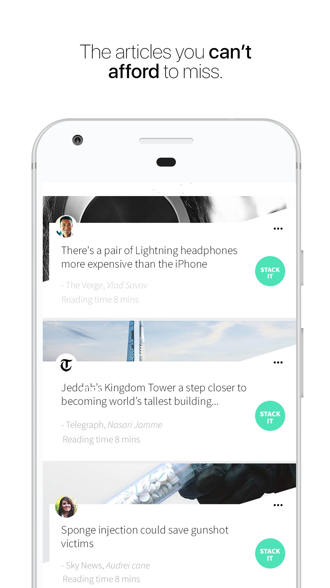 Stack - The articles you can't afford to miss