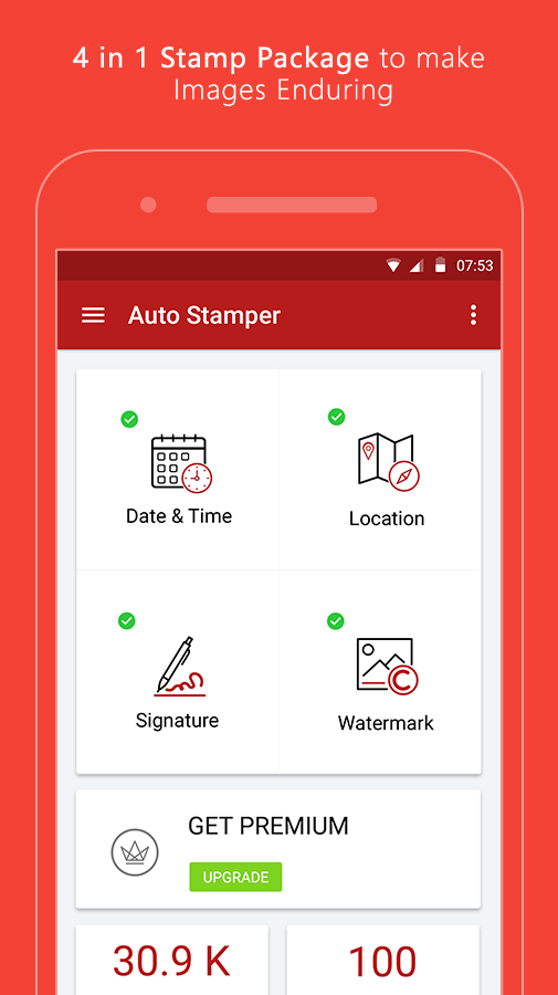 Auto Stamper: Timestamp Camera App for Photos 2019