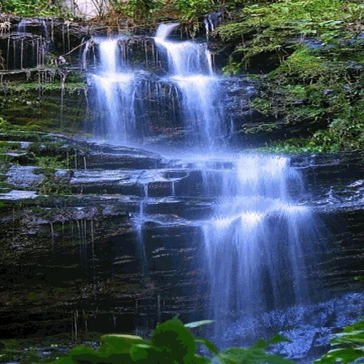 Blue Mountain Waterfall LWP