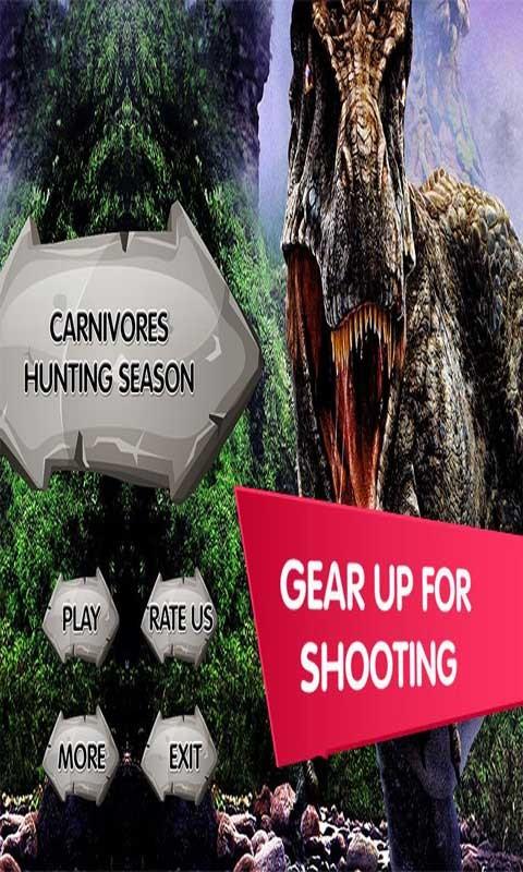 Carnivores Hunting Season