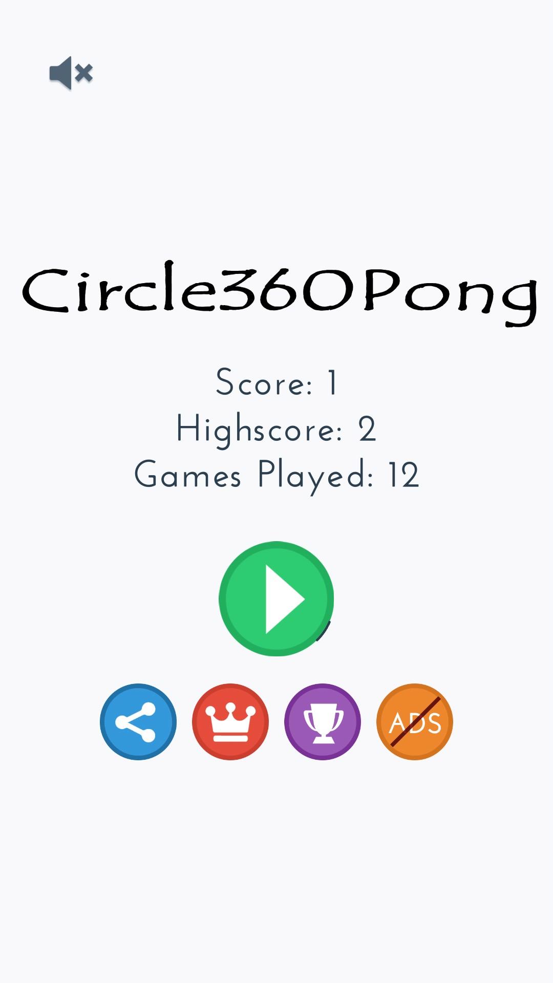 Circle 360 Pong