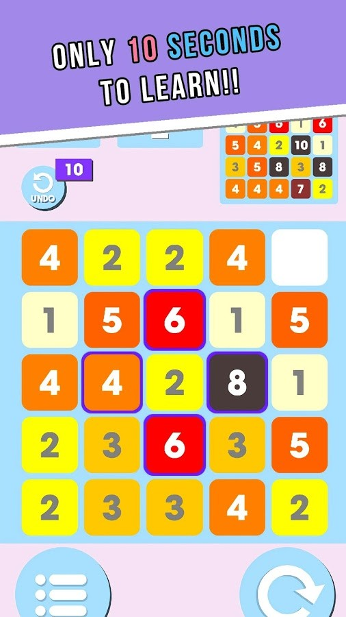 Cross One - The Numbers puzzle