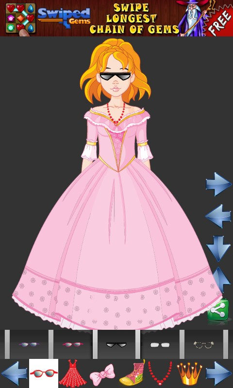 Dress up Princess for kids