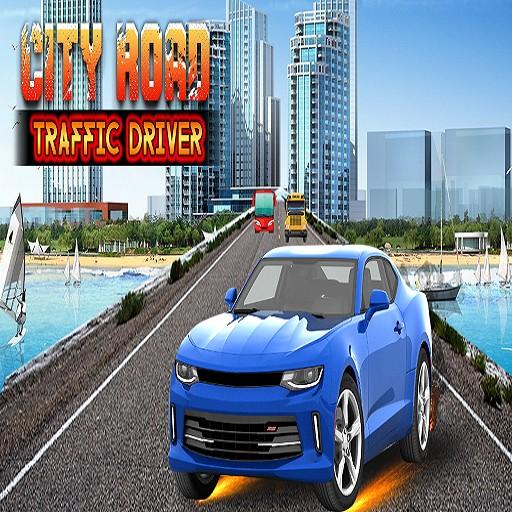 fast endless car traffic