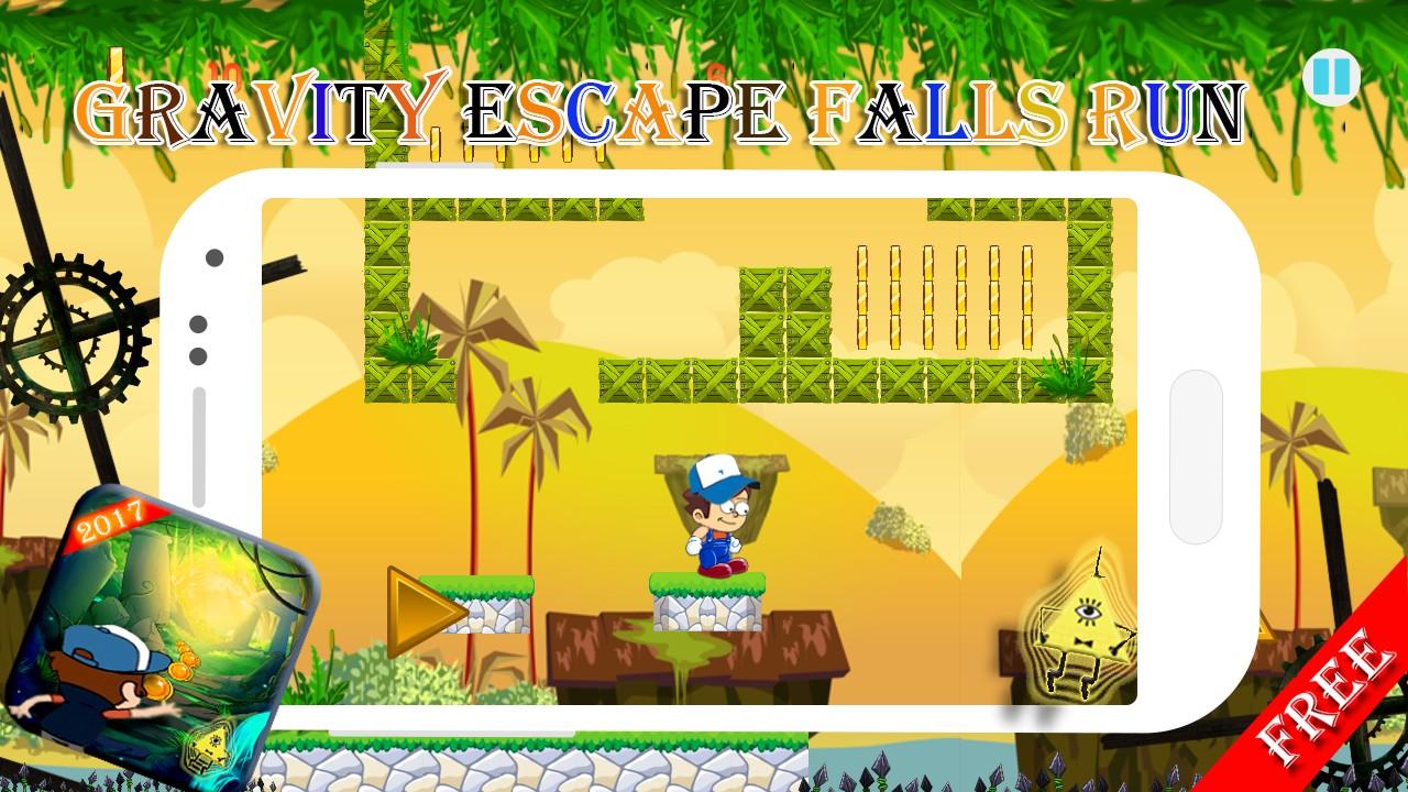 gravity escape falls run