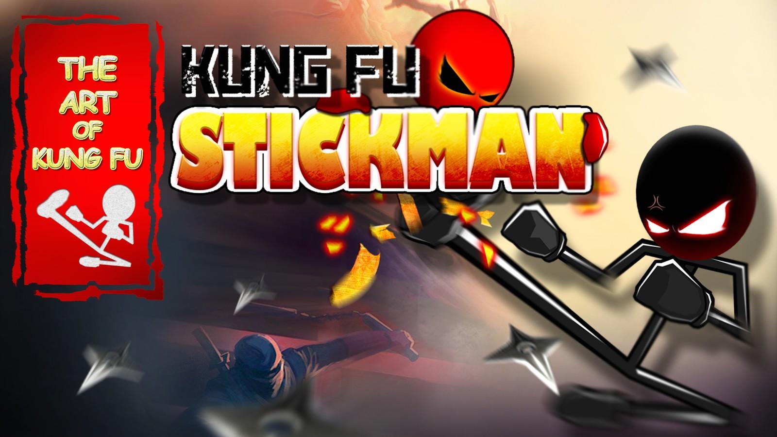 Kung Fu Stickman Warrior Game