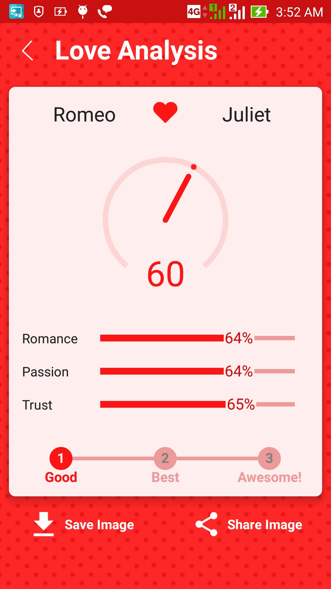 good love calculator