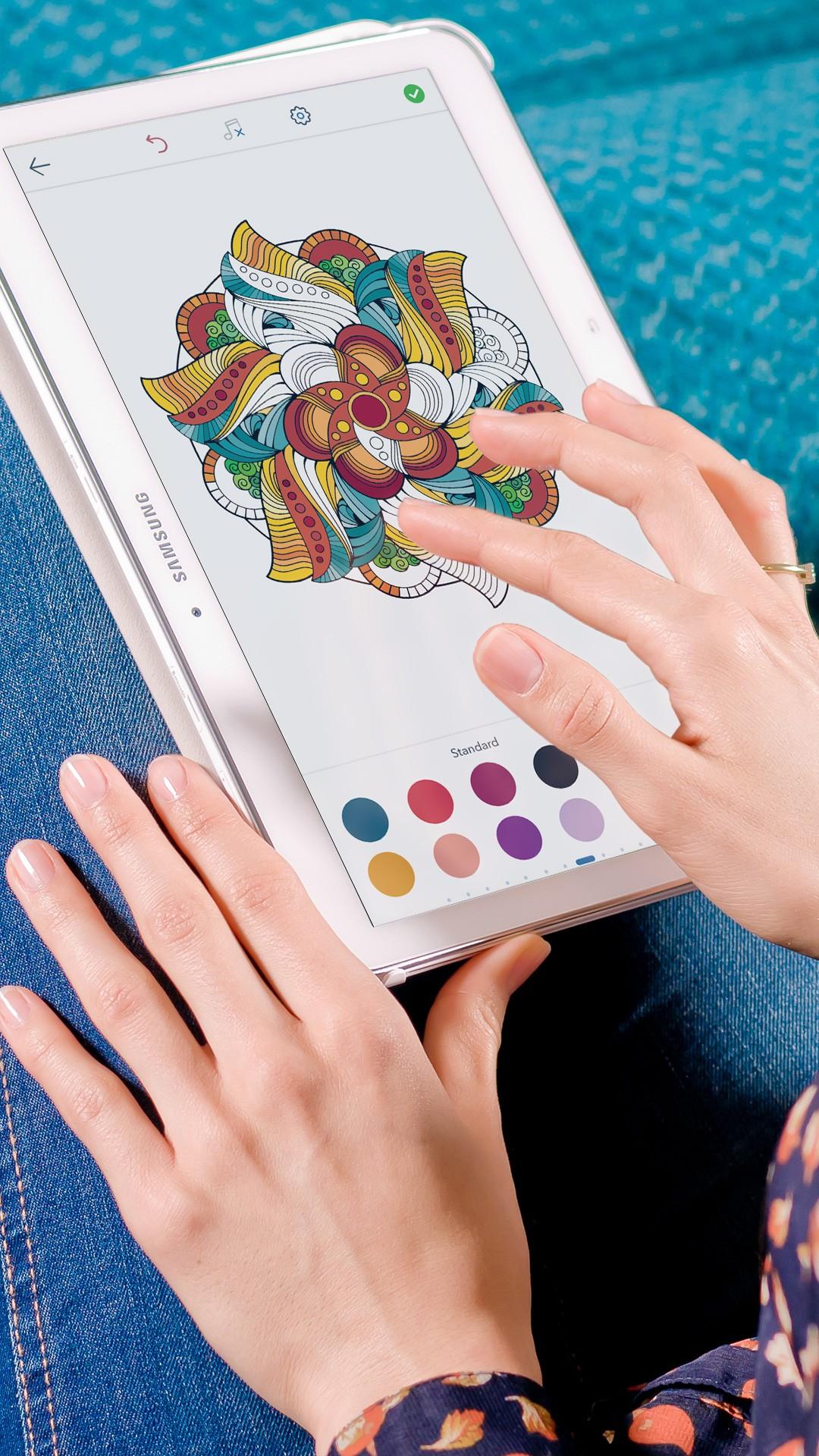 Magic Mandalas: Coloring Pages