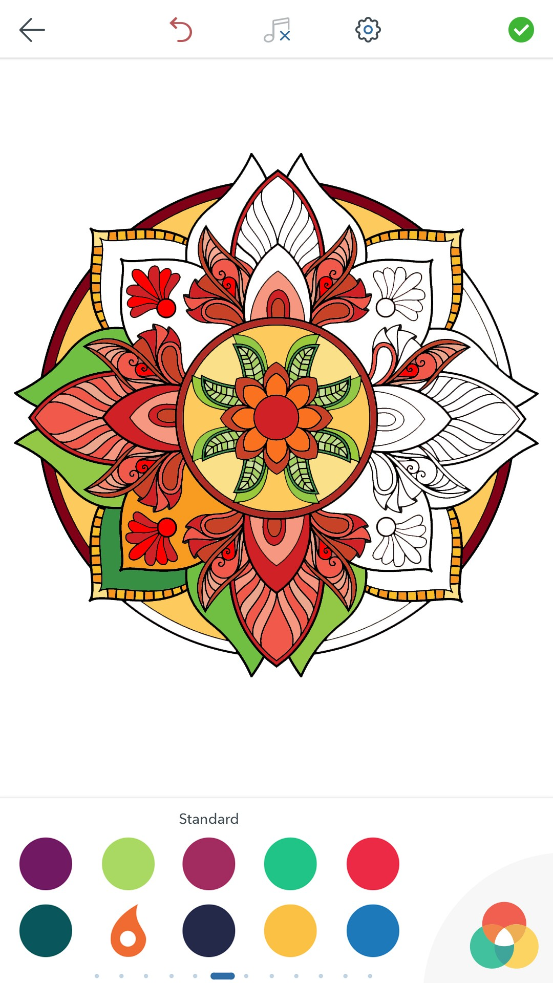 Magic Mandalas Coloring Pages