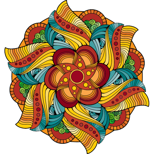 Magic Mandalas: Coloring Pages
