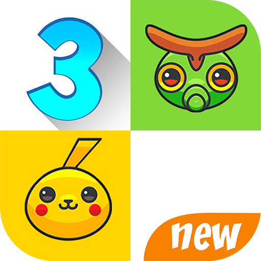 Piano Tap: Pikachu tiles 3