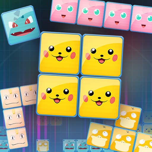 Pikablocks: Pikachu block game