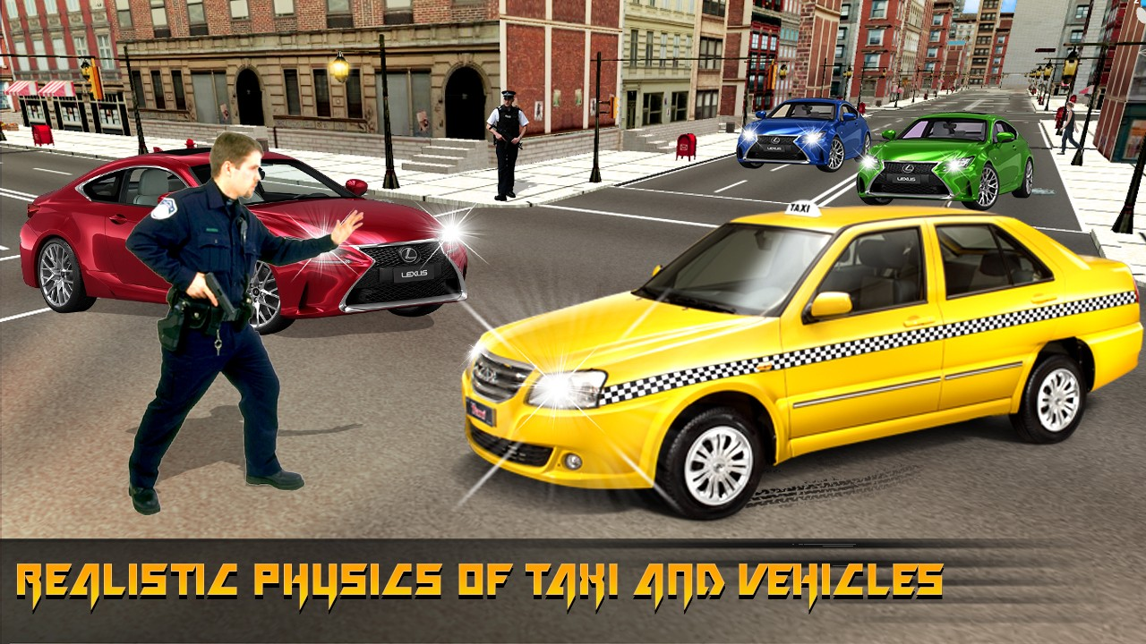 Taxi Sim 2K17: Driver Pro